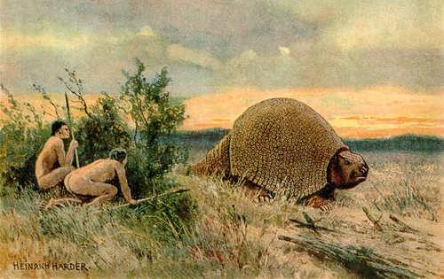 Uitgestorven_diersoorten_glyptodon